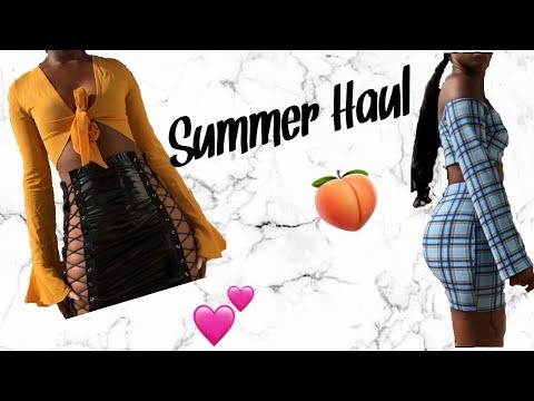 SUMMER HAUL | PRETTY LITTLE THING AND BOOHOO 2018