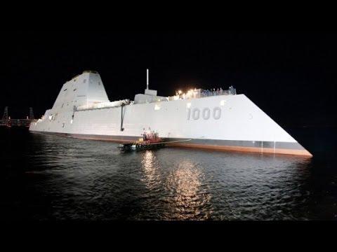 USS Zumwalt: The future of naval warfare