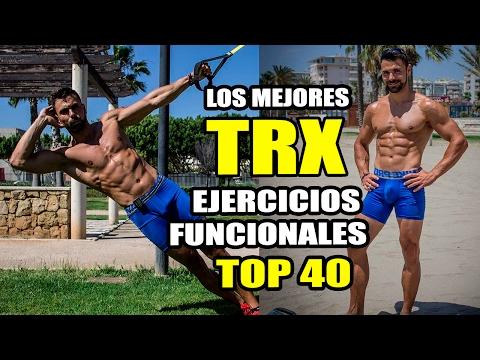 🔴 ► Los Mejores Ejercicios TRX ❗   TOP 40 Ejercicios Funcionales TRX Training 😱