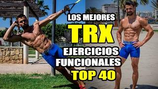 los mejores ejercicios trx    top 40 ejercicios funcionales trx training