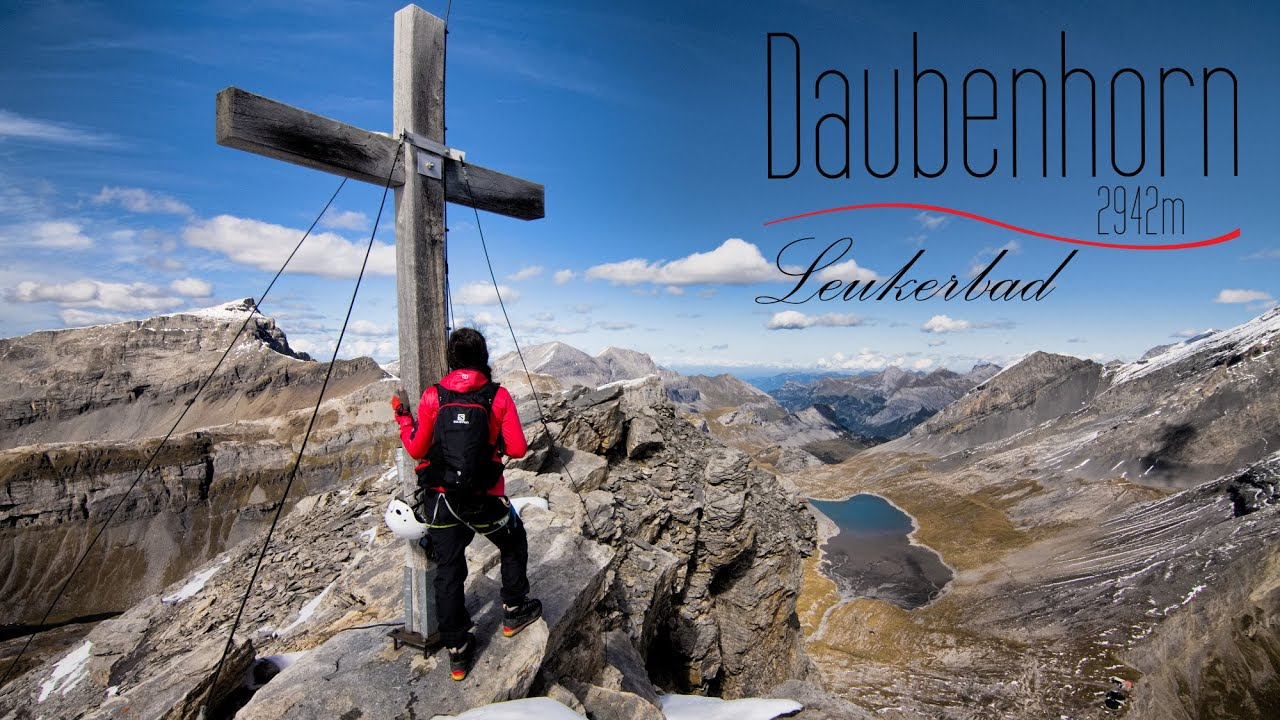 Klettersteig Leukerbad : Kleiner daubenhorn klettersteig klettersteige via ferratas in
