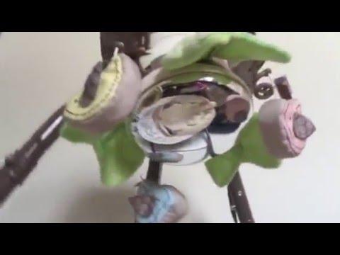 Fisher price snuggle bunny swing