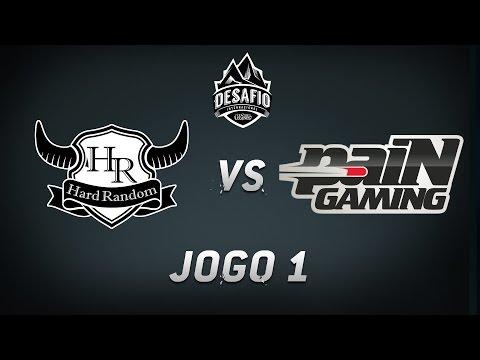 Hard Random x paiN Gaming (Jogo 1) Desafio Internacional - Fase de Grupos