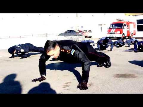 Полтавські рятувальники долучилися до світового флешмобу 22 Pushup Challenge