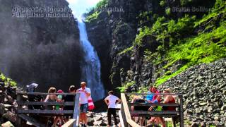 Njupeskär, the highest waterfall in Sweden - Nordic hiking and trekking series