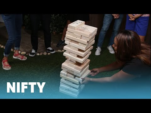 Giant Stacking Block Game