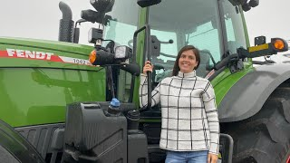 Kayla's Birthday Present | New Fendt Vario 1042