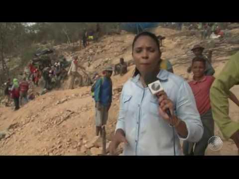 Confira a Reportagem da TV São Francisco sobre o garimpo em Sento Sé