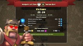 Clash of Clans - First War Recap, VERY CLOSE WAR!!!