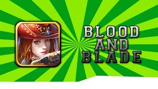 Blood and Blade Gameplay [Android Game][Genre:RPG]
