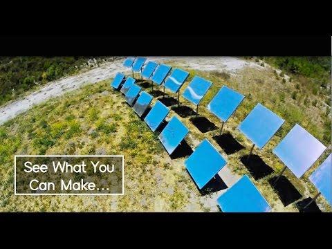 Solar Plastic Molding - SRM® - Low-Cost Off-Grid Plasic Molding, Zero Carbon.
