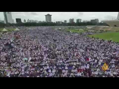 Berita Al-Jazirah TV Tentang Aksi Damai 212 Di Jakarta