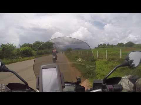 Myanmar motorcycle tour through eastern Shan State