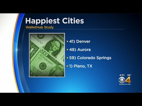 BEARDO - Three Colorado Cities Are Among Top 100 Happiest In The Nation
