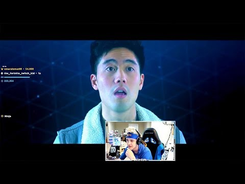 """Ninja Reacts to """"FORTNITE The Movie (Official Fake Trailer)"""" by nigahiga"""