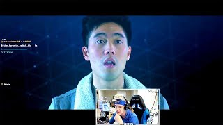"Ninja Reacts to ""FORTNITE The Movie (Official Fake Trailer)"" by nigahiga"