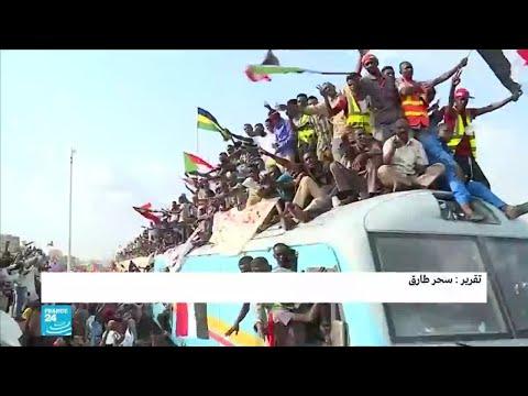 احتفالات جماهيرية في السودان  - نشر قبل 3 ساعة