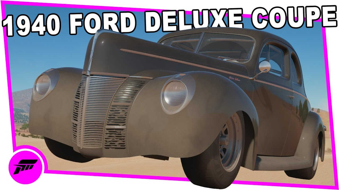 1940 Ford Deluxe Coupe 40 Ford Coupe Body Kit (FORZA HORIZON 3) Upgrade  Heroes