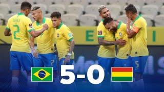 Eliminatorias   Brasil vs Bolivia   Fecha 1