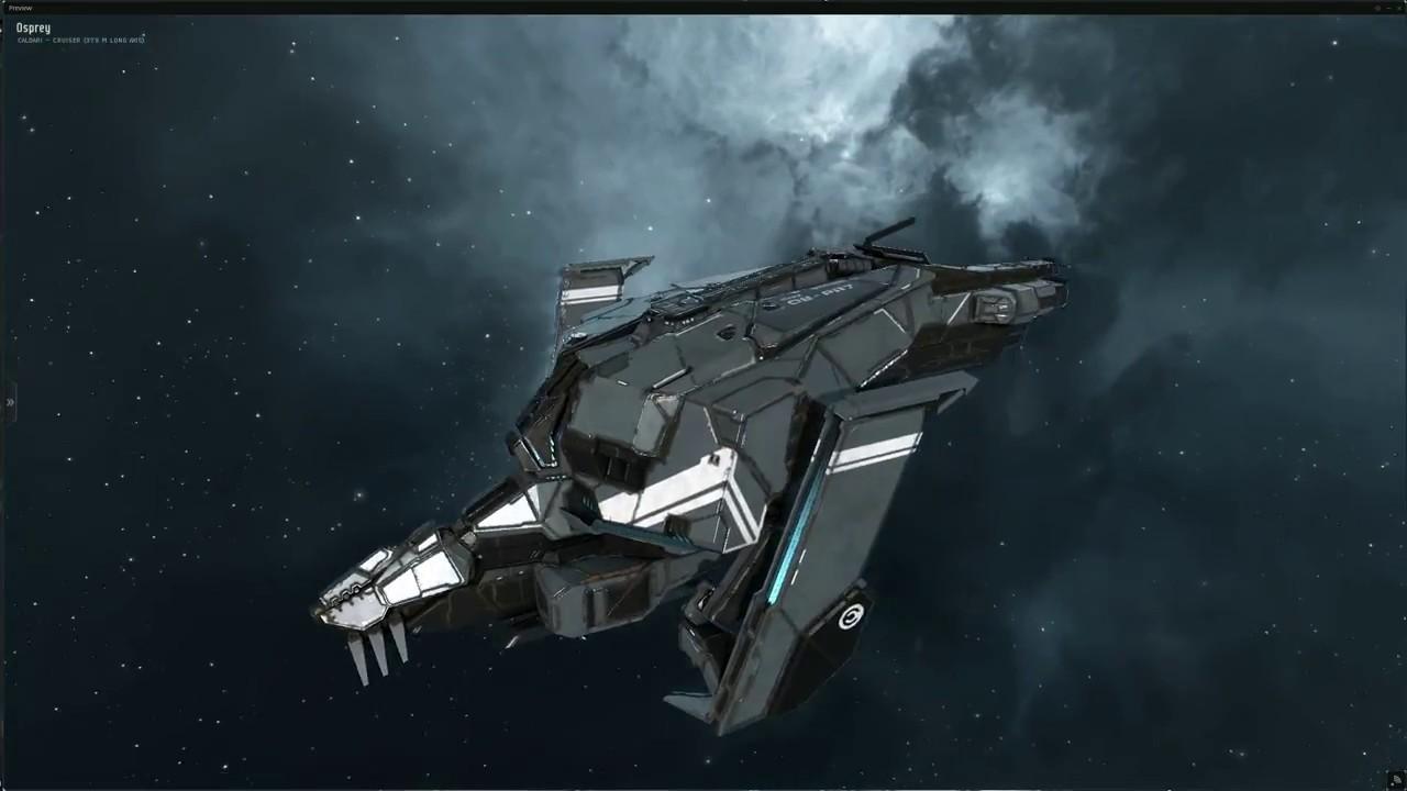 Eve Online Osprey Hull Redesign Youtube