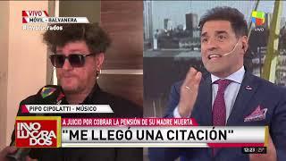 Pipo Cipolatti habló con Involucrados sobre la acusación de cobrar la pensión de su madre muerta YouTube Videos