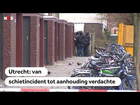 UTRECHT: Van schietincident in tram tot aanhouding verdachte