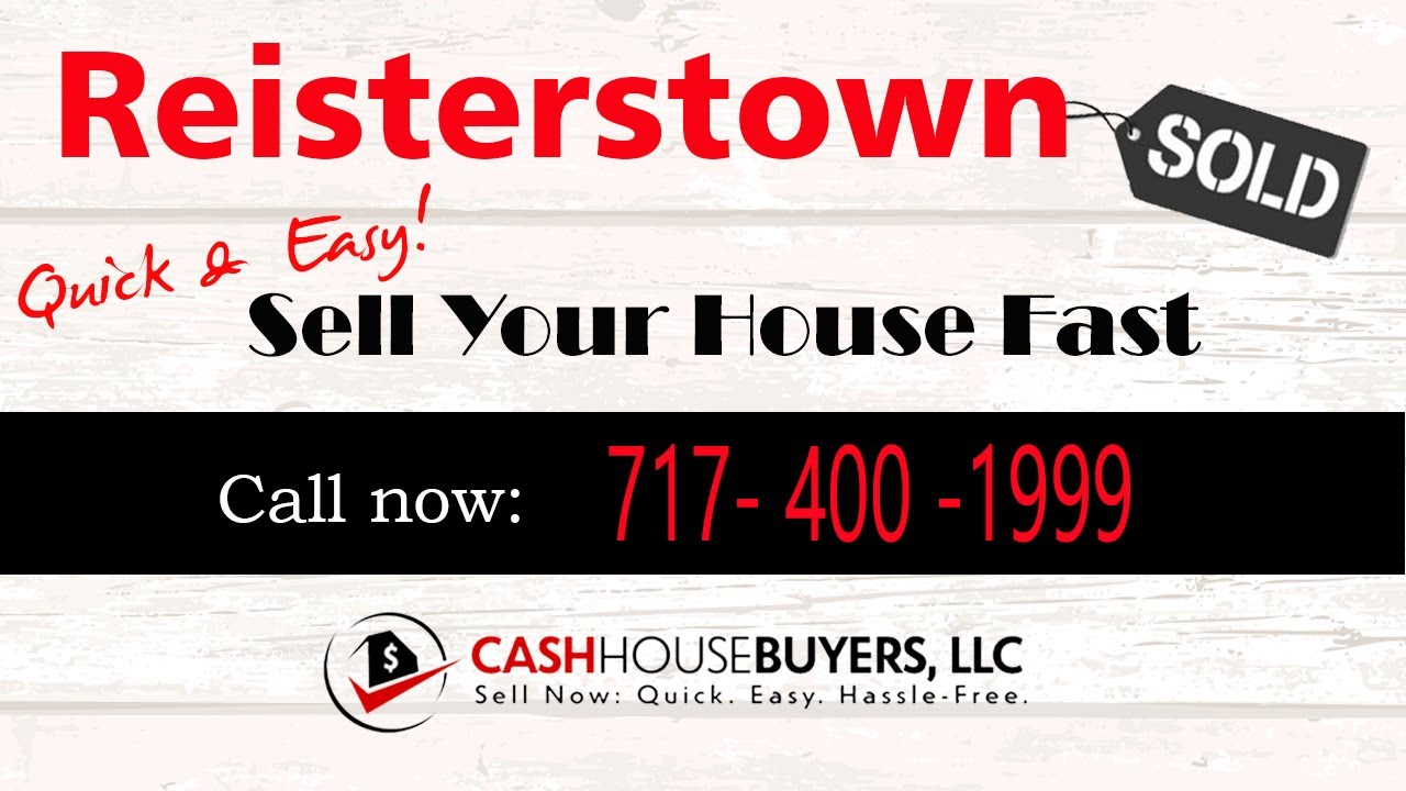HOW IT WORKS We Buy Houses Reisterstown MD   CALL 717 400 1999   Sell Your House Fast Reisterstown