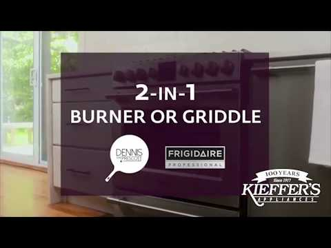 Frigidaire 2-in-1 Burner with Griddle
