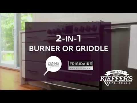 Frigidaire 2-in-1 Burner with Griddle