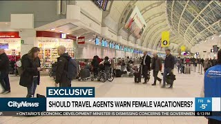 Canada warning women about travel to popular tourist spots