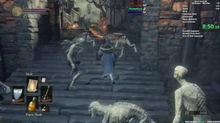 DS3 All Bosses Miracle Speedrun with Flail & DLC