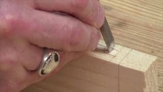 Chiseling a Mortise