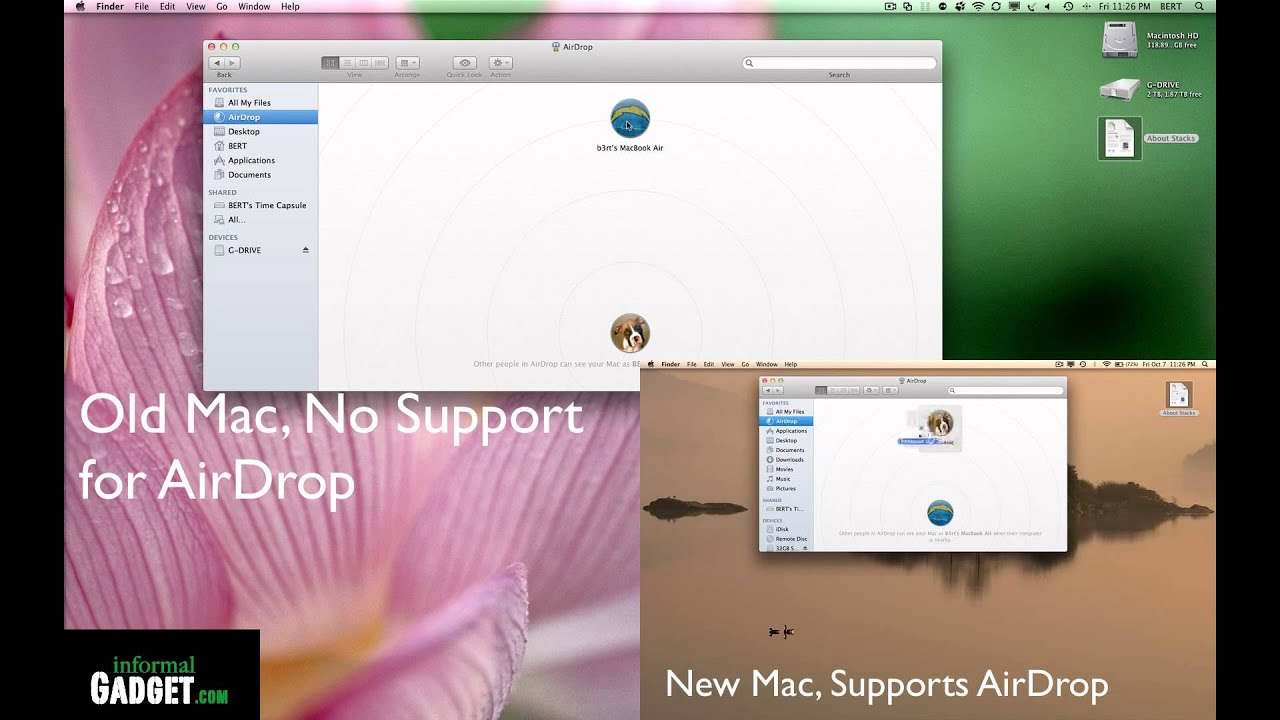 Airdrop for macs how to activate fix and use airdrop on any airdrop for macs how to activate fix and use airdrop on any apple mac computer running lion os x youtube ccuart Image collections