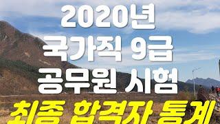 2020년 국가직 9급 공무원 시험 최종 합격자 통계(…