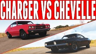 Forza Horizon 2 Versus : Dodge Charger R/T vs Chevrolet Chevelle SS