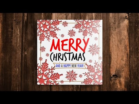 Photoshop Mondays #20: Creating a Square Christmas Card Design in Photoshop!