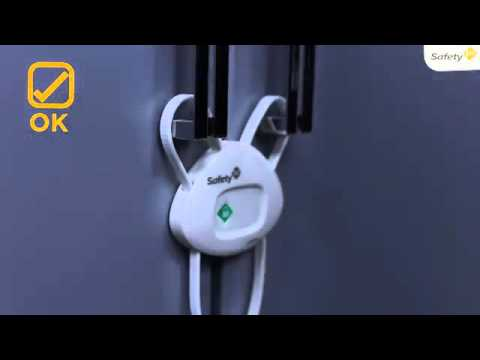 Safety 1st Side By Side Cabinet Lock Youtube