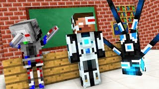 Monster School : BREWING ROBOT CHALLENGE - Minecraft Animation