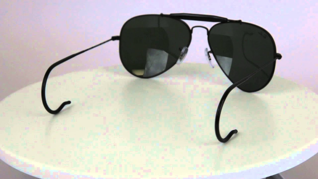 3d6c849bcb Ray-Ban RB3030 Outdoorsman Aviator Men s Sunglasses with Cable Temples