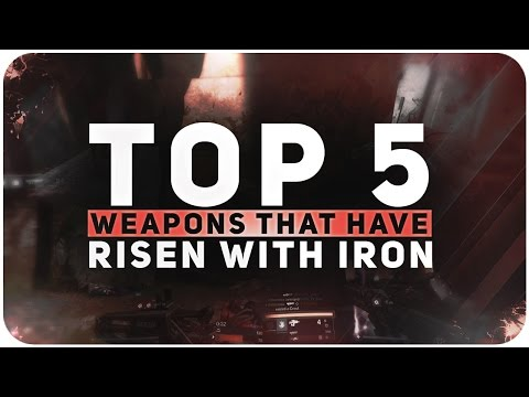 Destiny Top 5 PVP Weapons In Rise Of Iron
