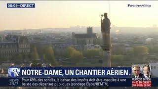 Seize statues de Notre-Dame vont prendre