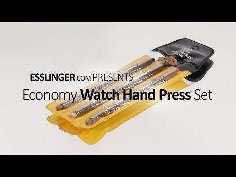 Economy Watch Hand Press Set