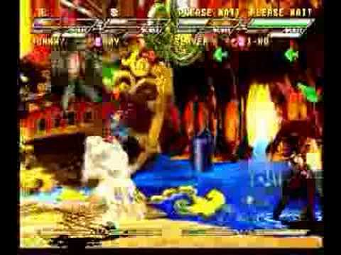 Guilty Gear Isuka : Johnny and May vs Slayer and I-no |