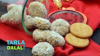 Healthy No Bake Cookies By Tarla Dalal