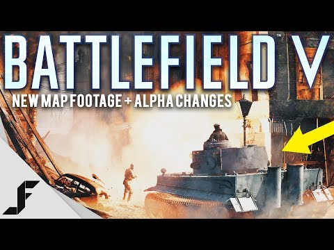 Battlefield 5 New Map Footage and Alpha Changes