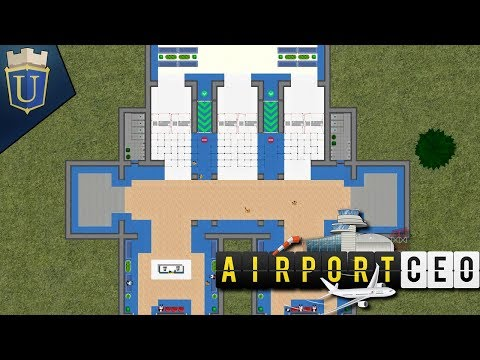 Airport CEO Gameplay | Terminal Entry Way | Part 3