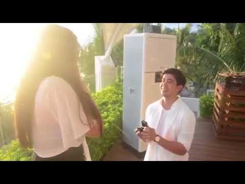 Rodjun Cruz and Dianne Medina Wedding Proposal Video