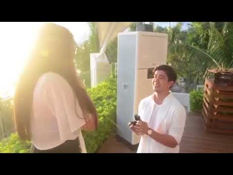 Rodjun Cruz and Dianne Medina Wedding Proposal Video