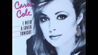 Caren Cole - I Need Your Love Tonight (High Energy)