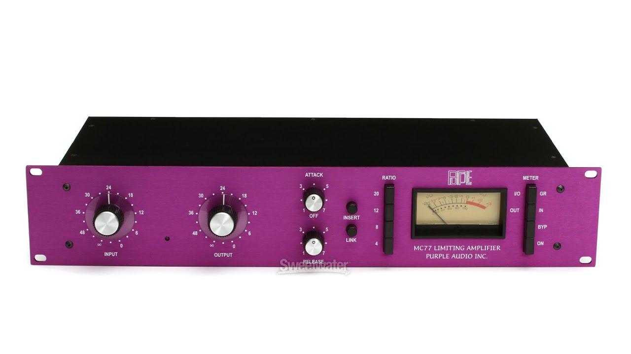purple audio mc77 plugin